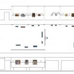 zaal 19: schikkingsplan kunstwerken en labels