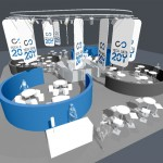 ontwerp Techdata stand 2009