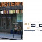plan ticketing office and bar, along streetside